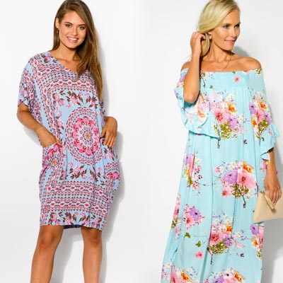 dresses at blue bungalow