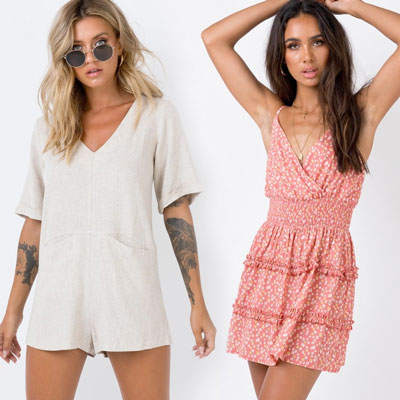 ladies playsuits