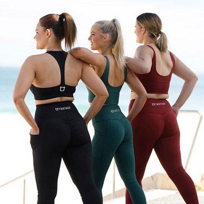 women in gymwear